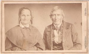 Mary Ann Neidigh and James Joseph McGhee c. 1870